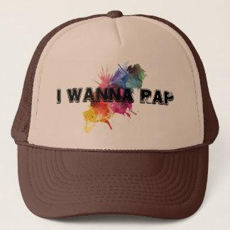I Wanna Rap Hat