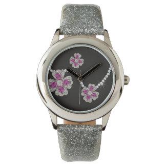 I Wanna Wear Diamonds Flower Girl Watch