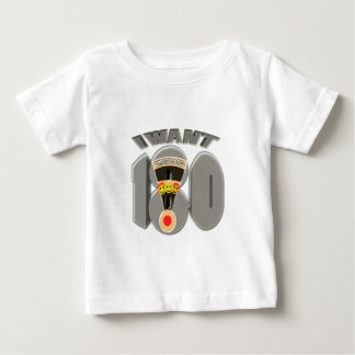 i want 3 in a bed ( 180 ) infant T-Shirt