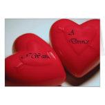 I Want A Divorce Hearts Greeting Card H (Fill)