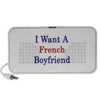 I Want A French Boyfriend Mp3 Speaker