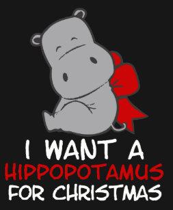 I Want Hippopotamus For Christmas.Hippopotamus For Christmas Gifts Gift Ideas Zazzle Uk
