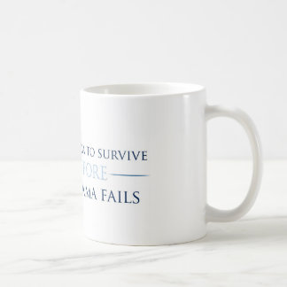 I want America to survive (Mug) Coffee Mug