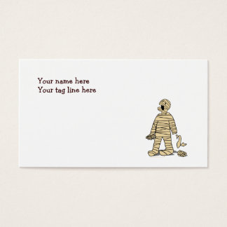 I Want My Mummy Funny Mummy Halloween Business Card