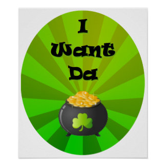 I want the Leprechaun Gold Poster