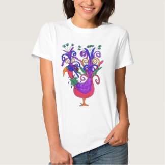 I want to be a peacock tee shirts