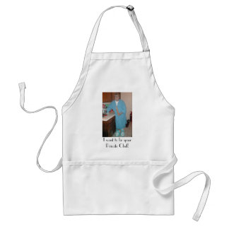 I want to be your Private Chef! Standard Apron