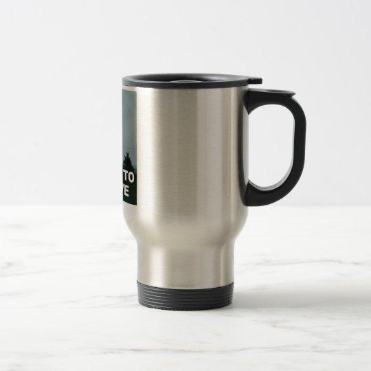 I Want To Believe aliens Travel Mug