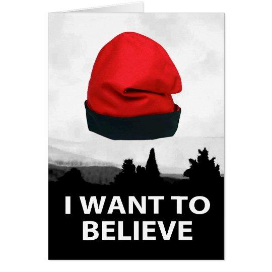 I want to believe - Barretina Card