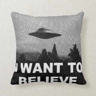 I WANT TO BELIEVE CUSHION