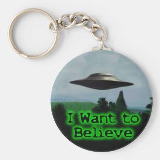 I want to believe key ring