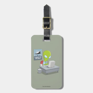 I Want To Believe Luggage Tag