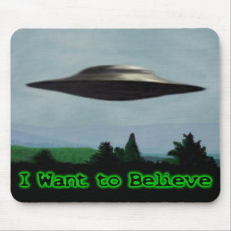 I want to believe mouse mat