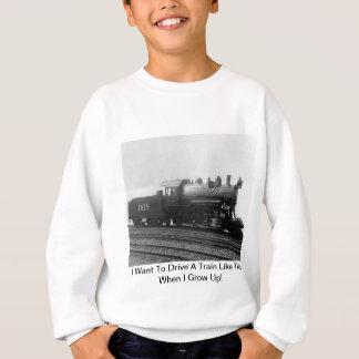I Want To Drive A Train Like This When I Grow Up! Sweatshirt