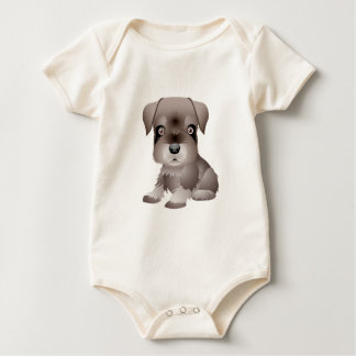 I-want to-play Rottweiler Puppy  Organic Bodysuit