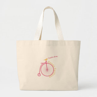 I Want To Ride My... Canvas Bags