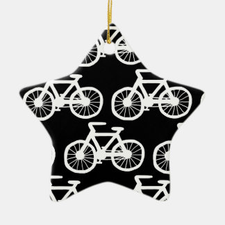 I Want to Ride my Bicycle Ceramic Star Decoration