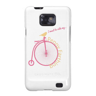 I Want To Ride My... Galaxy SII Cases