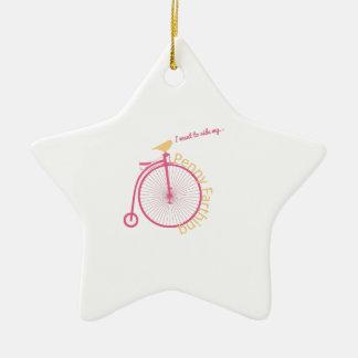 I Want To Ride My... Ceramic Star Decoration
