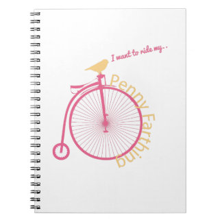 I Want To Ride My... Note Books