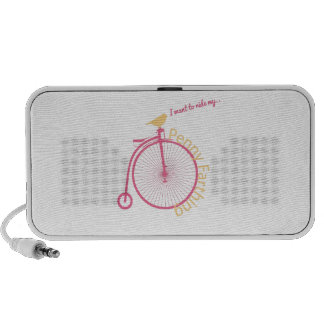 I Want To Ride My... Travelling Speaker