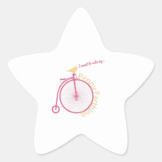I Want To Ride My... Star Sticker