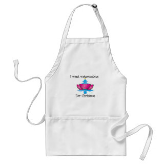 I want watermelons for Christmas Standard Apron