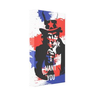 I Want You Canvas Print