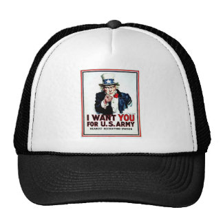 I Want You Flag Cap