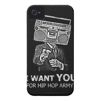 I want you for hip-hop army iPhone 4 Case-Mate cases