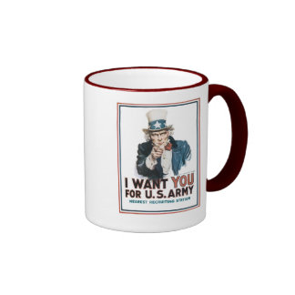 I Want You For the United States Army Coffee Mugs