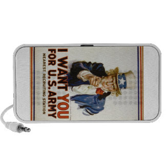 I Want You for U.S. Army by James Montgomery Flagg Travelling Speaker