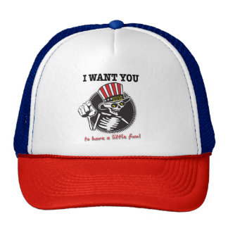 I WANT YOU!  Mother Truckin' Cap