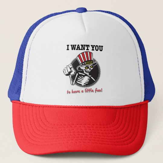 I WANT YOU! Mother Truckin' Trucker Hat
