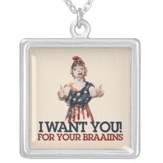 I want you pendants