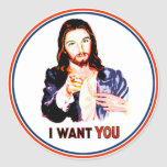 I WANT YOU STICKERS