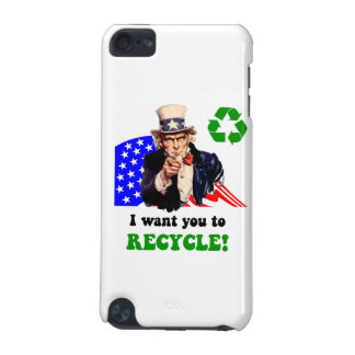 I want you to recycle! iPod touch (5th generation) case