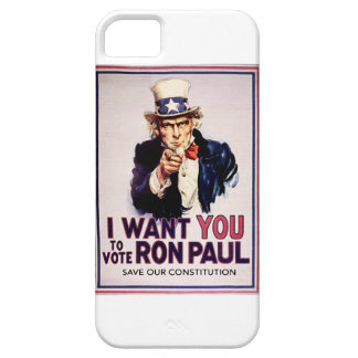 I Want You To Vote For Ron Paul Revolution iPhone 5 Case