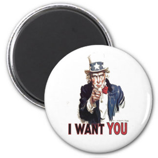 I Want You Uncle Sam Magnets