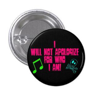 I wants emergency… 3 cm round badge