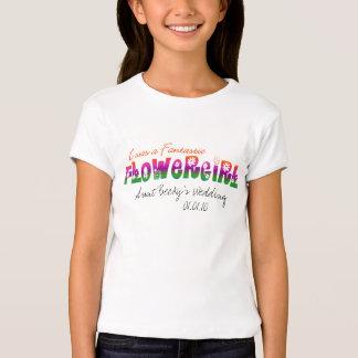 I Was a Fantastic Flower Girl! Shirt