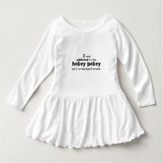 I was Addicted to the Hokey Pokey Tee Shirts