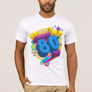'I was an 80s teen' t-shirt