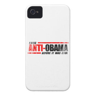 I WAS ANTI-OBAMA BEFORE IT WAS COOL- Faded.png iPhone 4 Case-Mate Case