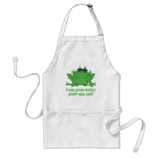 I was Green Before Green was Cool Standard Apron