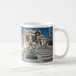 I was in Barcelona: Anoni Gaudi's Park Güell Coffee Mug