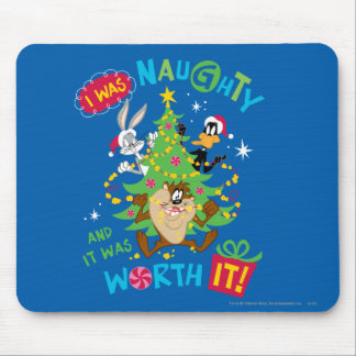 I Was Naughty Mouse Mat