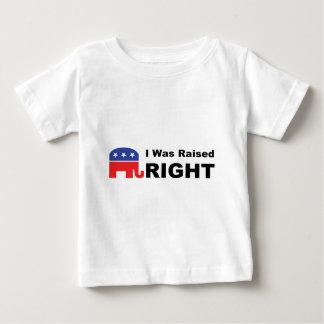 I Was Raised RIGHT Tshirt