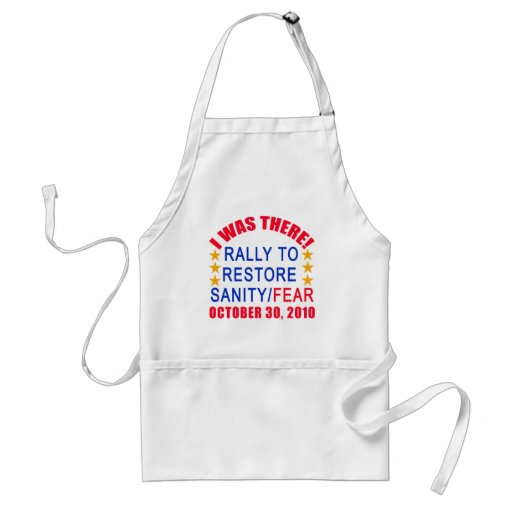 I WAS THERE at the Rally to Restore Sanity Tshirt Apron