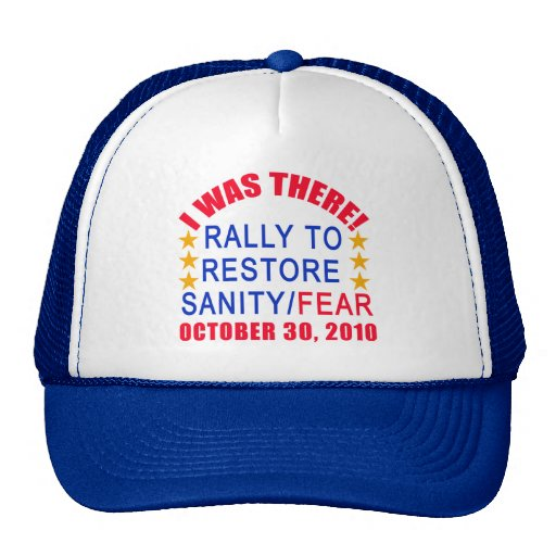 I WAS THERE at the Rally to Restore Sanity Tshirt Hats